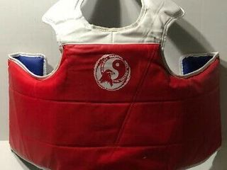 lXV Vision Martial Arts Body Guard  Two Sided Red Blue