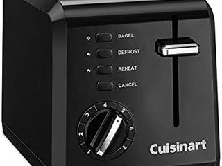Cuisinart Compact 2 Slice Toaster  No Box   Appears New