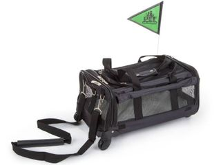 Rolling Pet Carrier  Strap   Wheels Not Included