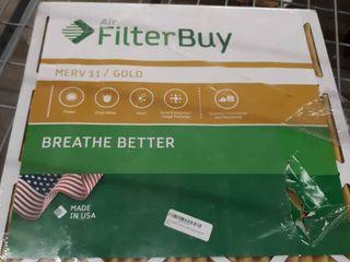 Air FilterBuy MERV 11 Gold Filter 4 Pack 22x22x1