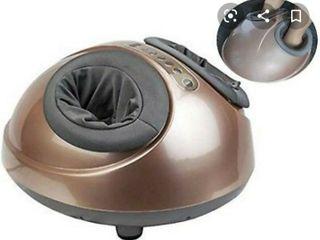 Zenergy Hub Shiatsu Foot Massager W/heated Compression (portable) Spa-quality