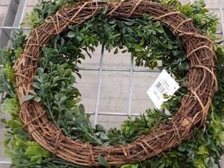 21 Inch Boxwood Wreath
