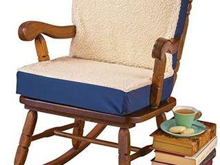 Dual Comfort Orthopedic Geo Support Cushion Blue