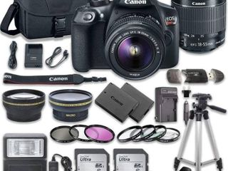 CANON EOS Rebel T6 18 55mm IS II Kit with Accessories Retail   529 99