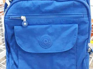 Kipling Small Blue Travel Bag