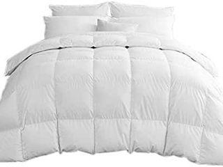 Rose Cose White Goose Down Comforter King Size