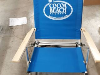 Beachwave Cocoa Beach, Florida Beach Chair Blue