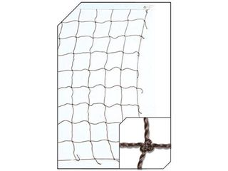 Champro Twisted Volleyball Net  Black White  1 7 mm