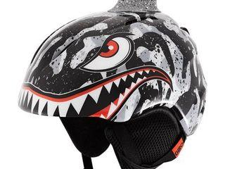 Giro launch Plus Helmet Kid s  Black  Grey Tiger Shark