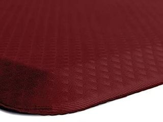 2 Pack Kangaroo Anti fatigue Ergonomic Mat Office Standing Work Home Desk 39 x20  Red Retail   95 97