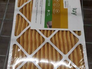 4 Pack Filterbuy 13x21 5x1 Merv 11 Pleated AC Furnace Air Filter