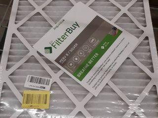 4 Pack MERV 4 Silver 20x22x1 Filters