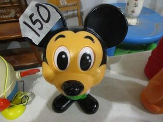 Mickey Mouse Pull String Toy