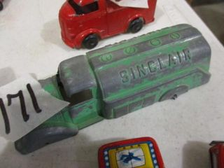 Tootsie Toy Sinclair Truck  no whls