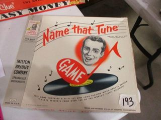 Name That Tune Game