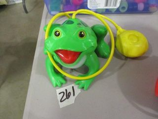 Fisher Price Frog Pull Toy