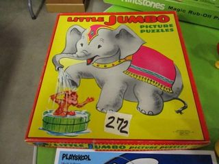 little Jumbo Picture Puzzles