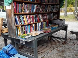 4 Shelves Of Coffee Table Books Includes All Books