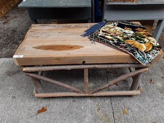 Twig Coffee Table Made By Jean Theriault Of