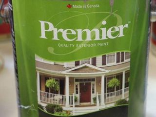 1 GAllON CAN OF PREMEIR PAINT GREY