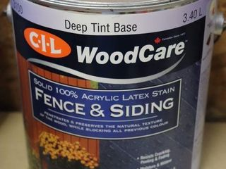1 GAllON CAN OF FENCE AND SIDING STAIN