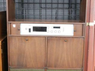 ElECTROHOME STEREO CABINET  AS IS 33 X14 X60