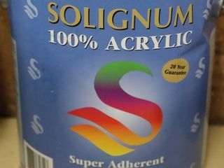 1 GAllON CAN OF SOlIGNUM PAINT WHITE