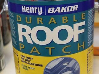 1 GAllON CAN OF HENRY BAKOR ROOF PATCH