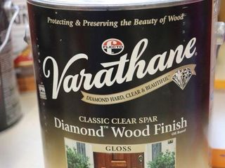 1 GAllON CAN OF VERATHANE WOOD FINISH