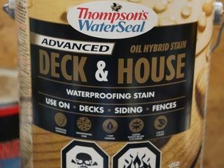 1 GAllON CAN OF THOMPSONS WATER SEAl