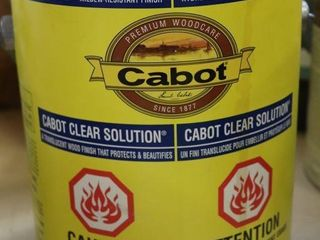 1 GAllON CAN OF CABOT WOOD FINISH