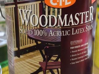 1 GAllON CAN OF CIl WOOD STAIN