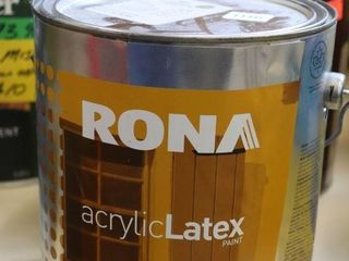 1 GAllON CAN OF RONA EXTERIOR PAINT GREEN