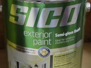1 GAllON CAN OF SICO EXTERIOR PAINT