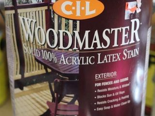 1 GAllON CAN OF CIl WOOD MASTER STAIN