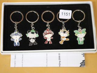 2008 OlYMPIC KEY CHAINS