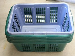 GROUP OF lAUNDRY BASKETS