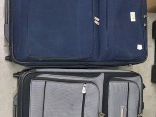 VIA AND AIR CANADA SUITCASES