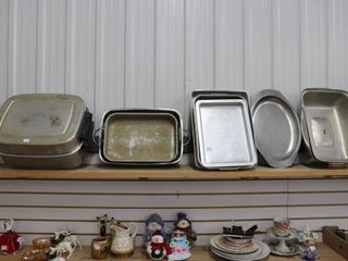 lARGE GROUP OF COOKWARE