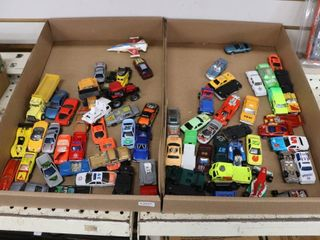 2 BOXES OF TOY CARS