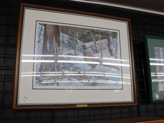 VIC GIBBONS  WINTER SOlITUDE  NUMBERED AND SIGNED