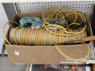 EXTENSION CORDS  BUNGE CORDS  SAW ETC