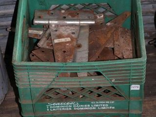 CRATE OF HINGES
