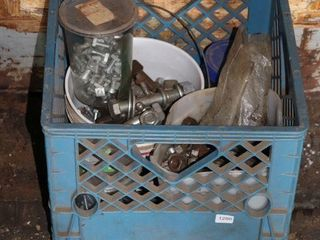 CRATE OF HARDWARE