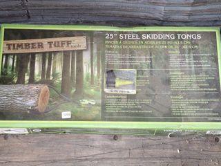 25  SKIDDING TONGS