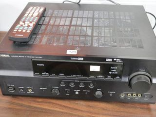 YAMAHA RX V881 RECIEVER WITH REMOTE   GREAT