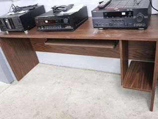 DESK UNIT WITH KEYBOARD PUll OUT DRAWER