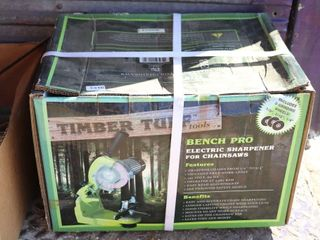BENCH PRO ElECTRIC CHAINSAW SHARPENER NEW IN BOX