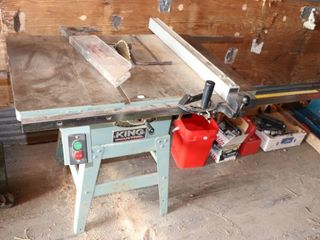 KING INDUSTRIAl 10  TABlE SAW