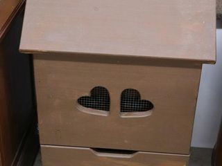PAINTED PINE POTATO BOX 17 X13 29